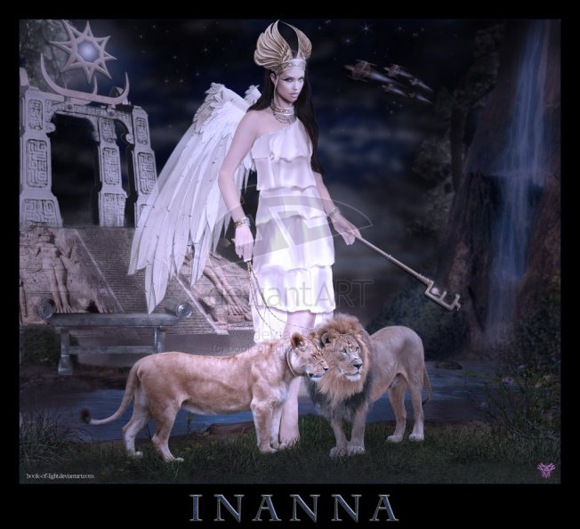 A Modern depiction of Inanna